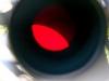 Naprészlet okulár projekcióval (2008.08.12. 13:23 Rózsaszentmárton, Celestron EQ-5 mechanika, 40/400 Coronado PST naptávcső, Canon EOS 40D, Sigma 17-70mm objektív, 48mm, f/4.5, 1/60 sec, ISO800, feldolgozás: Photoshop)