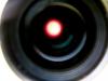 Napkorong okulár projekcióval (2008.08.12. 13:24 Rózsaszentmárton, Celestron EQ-5 mechanika, 40/400 Coronado PST naptávcső, Canon EOS 40D, Sigma 17-70mm objektív, 48mm, f/4, 1/20 sec, ISO800, feldolgozás: Photoshop)