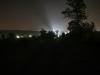 Így tették tönkre az eget a templomtorony reflektorai