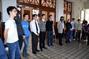 Csillagász diákolimpia sorakozó KKG
